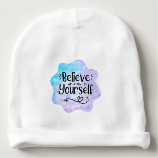 Believe in Yourself Baby Beanie
