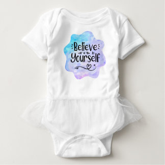 Believe in Yourself Baby Bodysuit