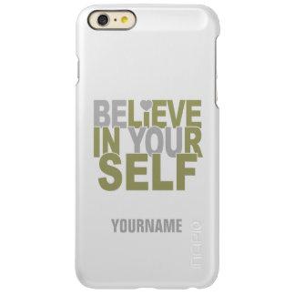 BELIEVE IN YOURSELF custom cases