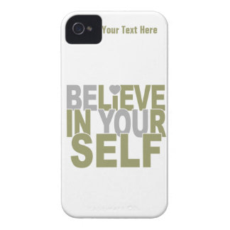 BELIEVE IN YOURSELF custom iPhone case-mate iPhone 4 Cases