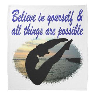 BELIEVE IN YOURSELF DIVER DREAMS DO-RAG