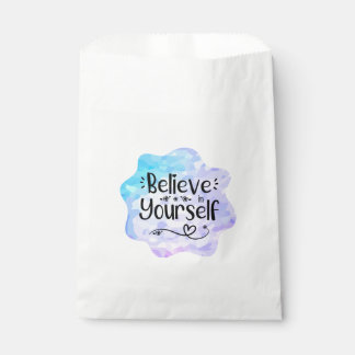 Believe in Yourself Favour Bag