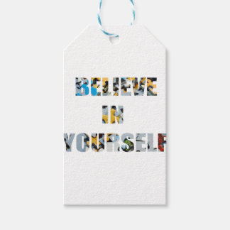 BELIEVE IN YOURSELF GIFT TAGS