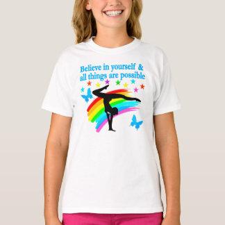 BELIEVE IN YOURSELF GYMNASTICS QUOTE T-Shirt