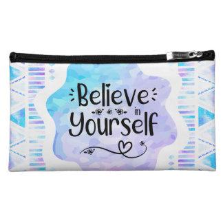 Believe in Yourself Makeup Bag