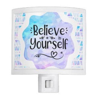 Believe in Yourself Night Lights