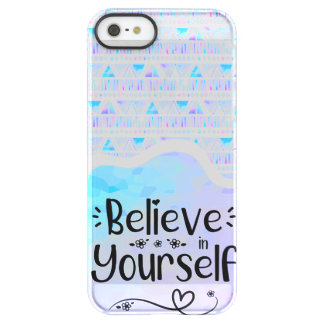 Believe in Yourself Permafrost® iPhone SE/5/5s Case