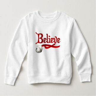 Believe Jingle Bell Sweatshirt