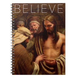 Believe Journal Notebook