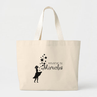 Believe Large Tote Bag