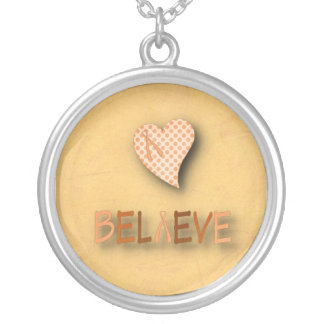 Believe Leukemia Necklace