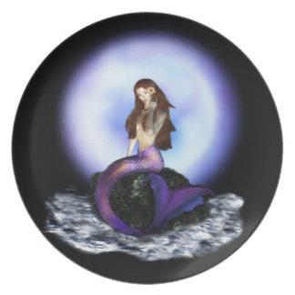 Believe Mermaid Plate