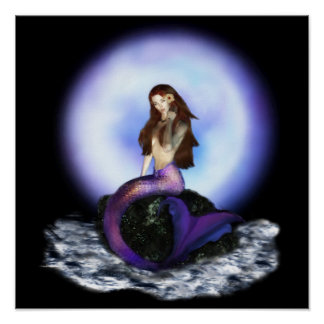 Believe Mermaid Posters