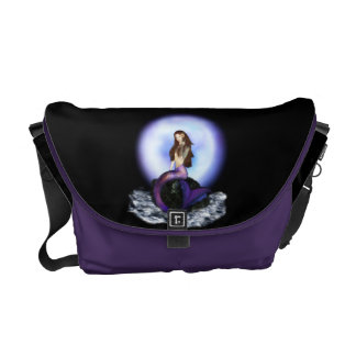Believe Mermaid Rickshaw Messenger Bag