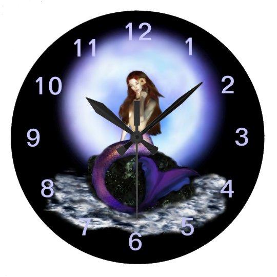 Believe Mermaid Wall Clock 1
