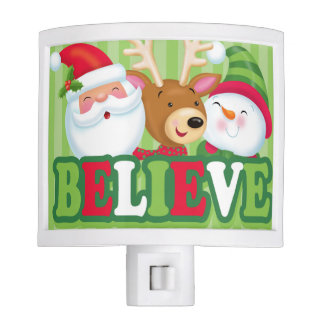 Believe Night Light