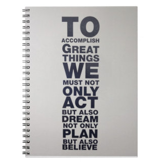 believe notebook