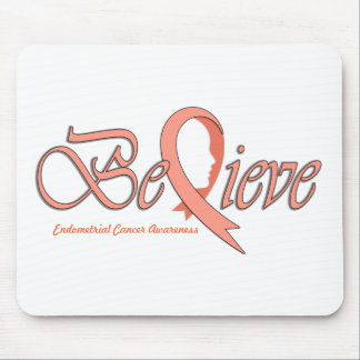 """Believe """"Peach Ribbon Accessories"""" Mouse Pad"""