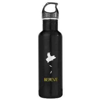 BELIEVE-Pigs Will Fly 710 Ml Water Bottle
