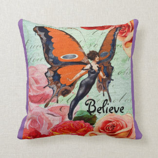 Believe Pillow - Purple