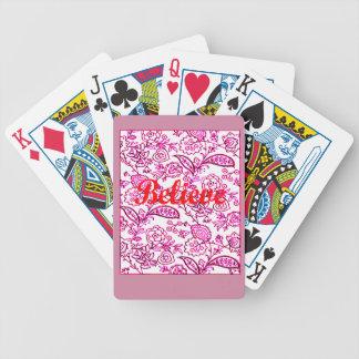 Believe Poker Deck