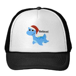 Believe! Santa Nessie Trucker Hat