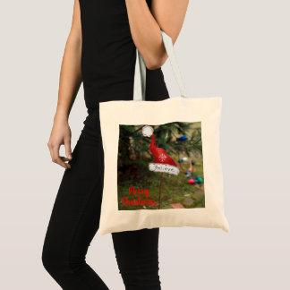 Believe Santa's Hat Tote Bag
