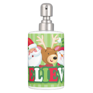Believe Soap Dispenser and Toothbrush Holder
