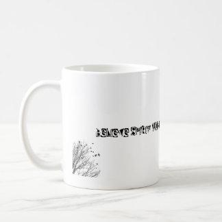 Believe Spirit Wonder Magic Create Dream Basic White Mug