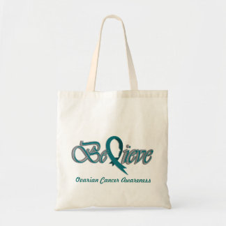 "Believe ""Teal - Gift Items"" Tote Bag"