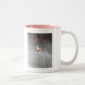 believe when pigs fly mug