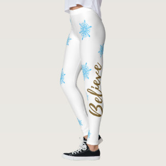 Believe Winter Wonderland Leggings