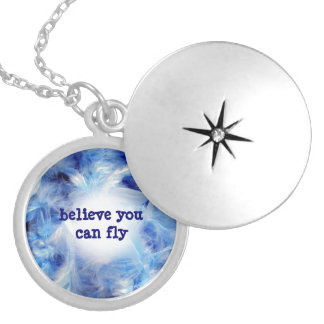 Believe You Can Fly Feathers Necklace