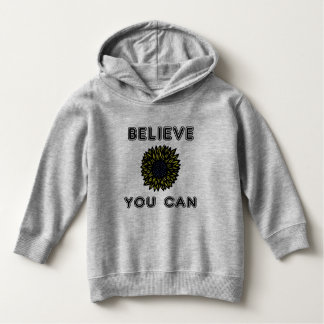 """Believe You Can"" Toddler Pullover Hoodie"