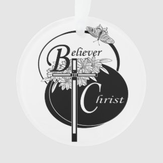 Believer in Christ Christmas Tree Ornament