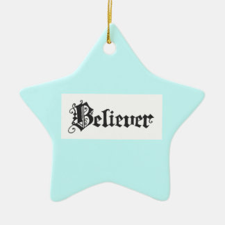 Believer Ornament