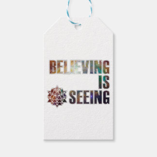 Believing is Seeing Gift Tags