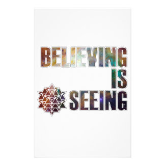 Believing is Seeing Stationery