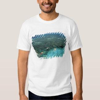 Belize, Barrier Reef, Lighthouse Reef, Blue T-shirt