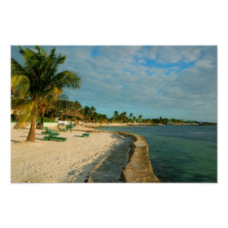 Belize Beach Poster