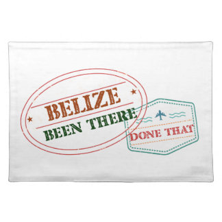 Belize Been There Done That Placemat
