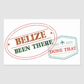 Belize Been There Done That Sticker