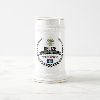 Belize Beer Stein
