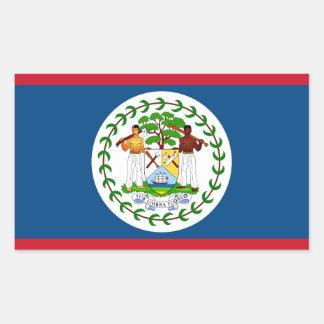Belize/Belizean Flag Sticker