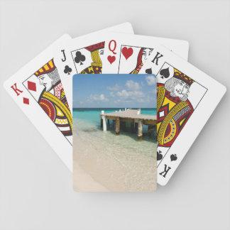 Belize, Caribbean Sea, Goff Caye. A Small Island Card Decks