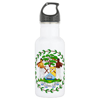 Belize Coat Of Arms 532 Ml Water Bottle