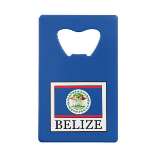 Belize Credit Card Bottle Opener