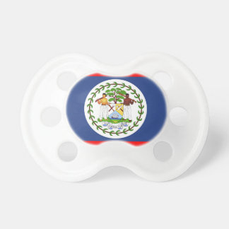 Belize flag country symbol pacifier