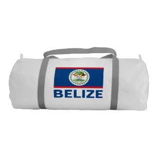 Belize Flag Customizable Blue Text