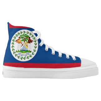 Belize Flag High Tops